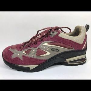Asolo Heli Purple Hiking Shoes Women's 6.5 Leather